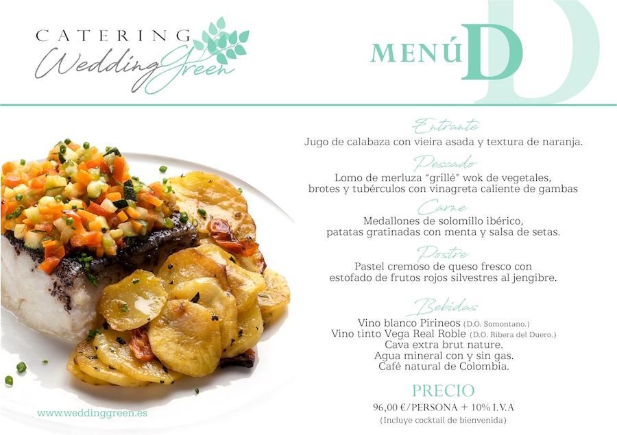 menus bodas