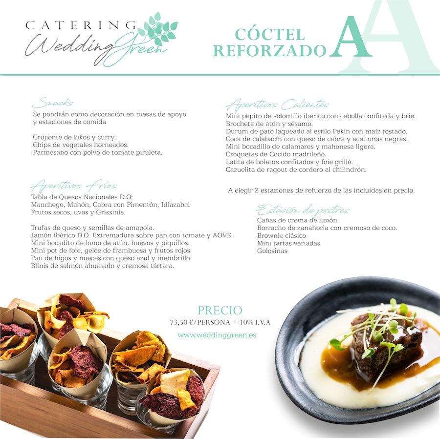menus para bodas