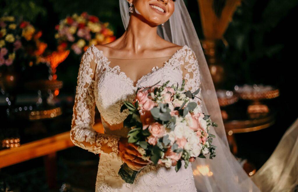 vestido para boda civil al aire libre