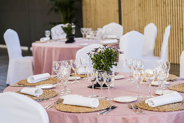espacio bodas catering wedding green