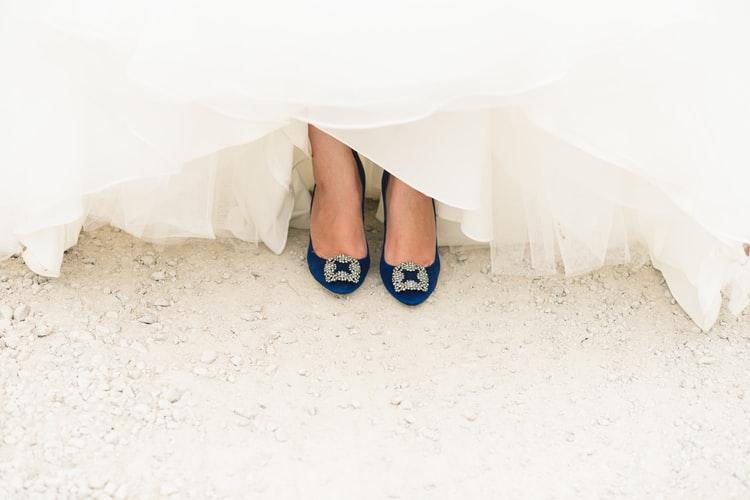 elegir los zapatos de novia