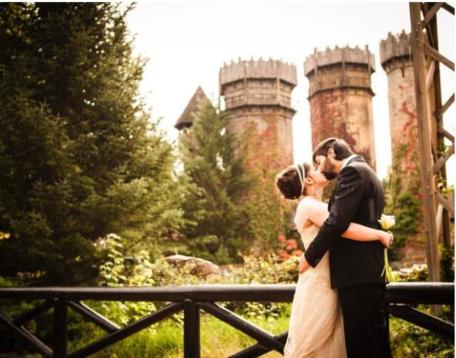 bodas en parque de atracciones Madrid