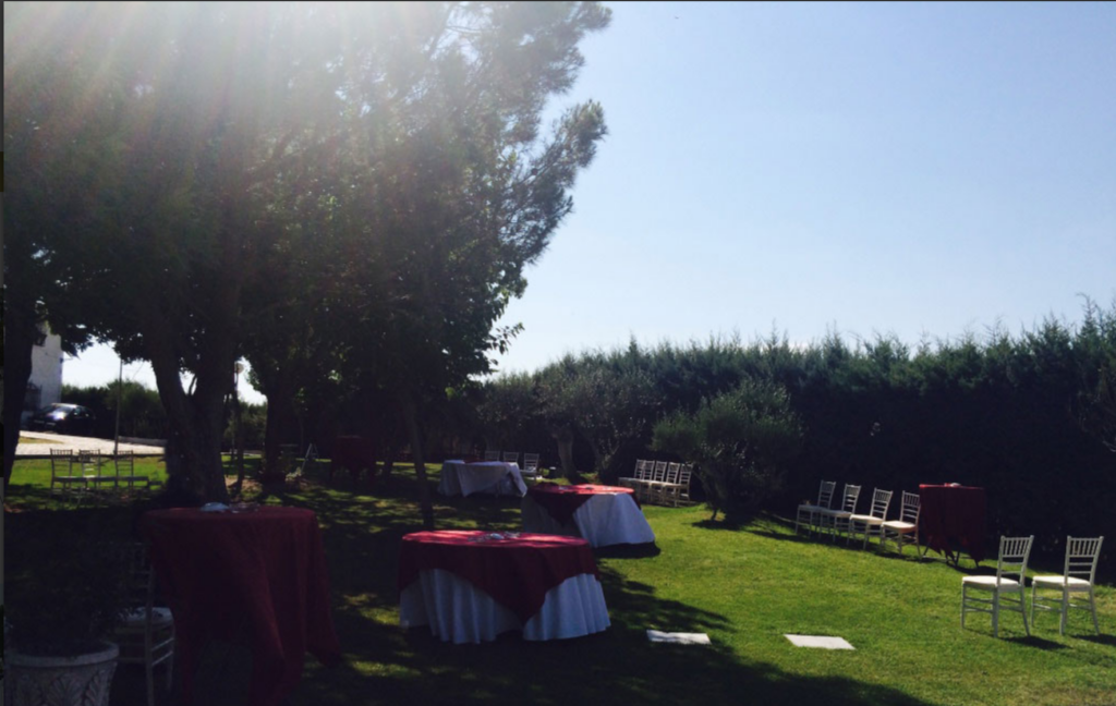 finca la dehesilla catering wedding green